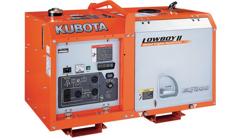 Kubota GL Series Generator
