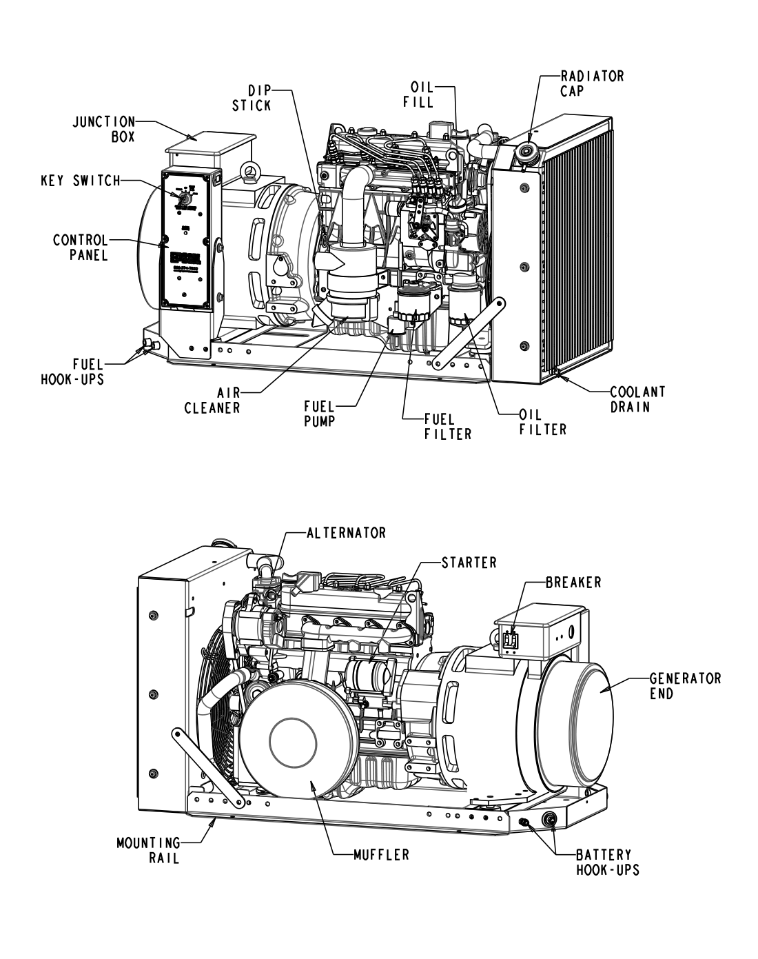 EPS 12 kW Open Generator