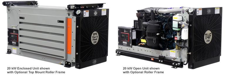 9-45 kW Mobile Diesel Generators | Engine Power Source