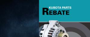 Kubota Reman Parts Rebate
