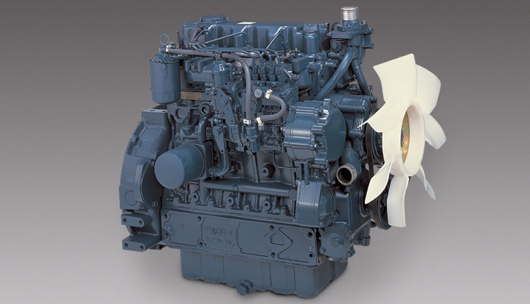 New Kubota Engine
