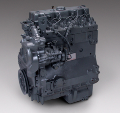 Remanufactured Industrial Diesel Engine
