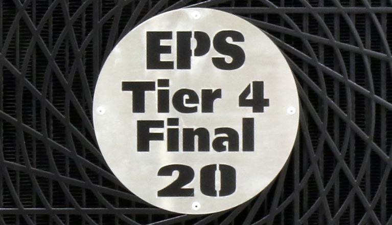 EPS Tier 4 Generator Front Medallion