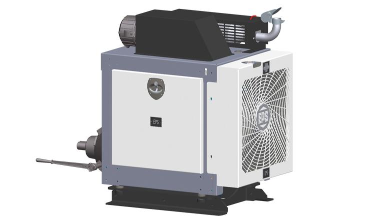 EPS Gasoline Powered Chipper Unit