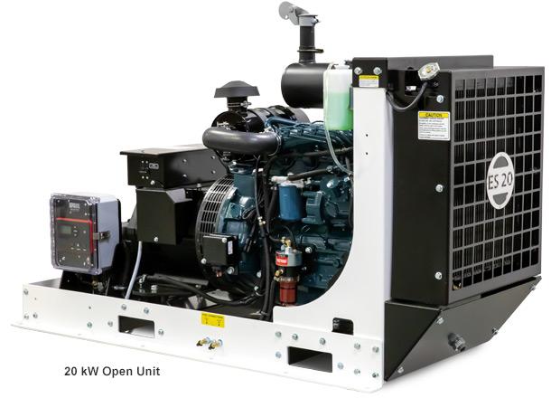 EPS 20kW Open Standby Generator
